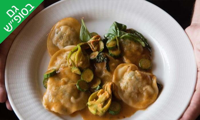 5 ארוחת שף במסעדת 'איטלקי מקומי' - שוק האיכרים בנמל תל אביב