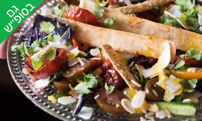 6 ארוחת שף במסעדת 'איטלקי מקומי' - שוק האיכרים בנמל תל אביב