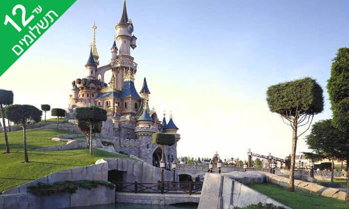 5 יולי-אוגוסט בפריז - כולל כניסה לפארקי Disneyland ל-3 ימים