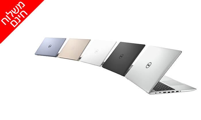 5 מחשב נייד דל DELL עם מסך 15.6 אינץ' - משלוח חינם!