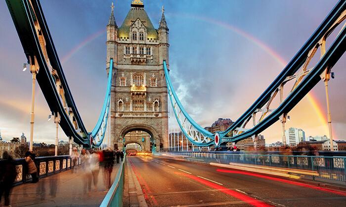 4 חופשה בלונדון, כולל שבועות - שופינג, מחזות זמר, פיש אנד צ'יפס ועוד קצת שופינג