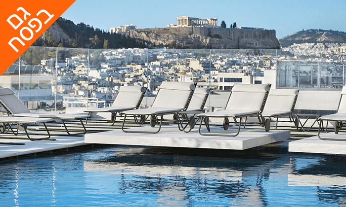 2 חופשת 5 כוכבים באתונה, כולל פסח ושבועות
