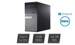 מחשב נייח DELL עם מעבד I7