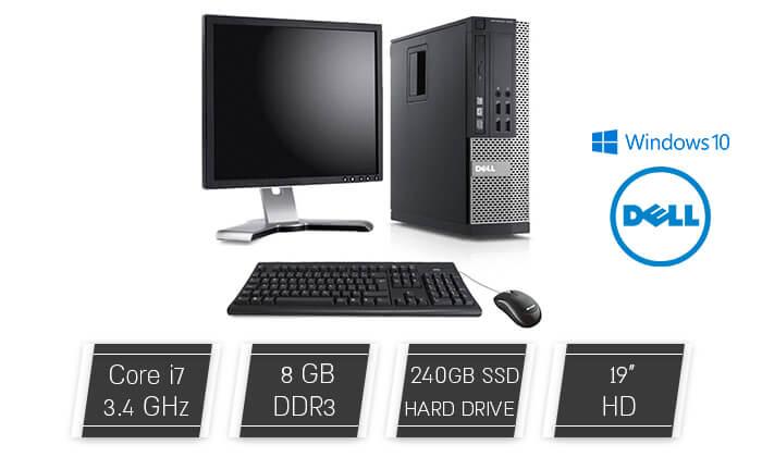 2 מחשב נייח DELL עם מעבד i7