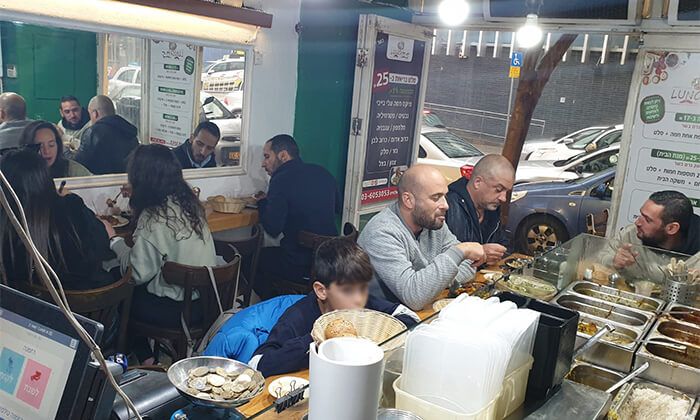 5 ארוחה בלאנצ' 25, הרצל תל אביב - גם במשלוח
