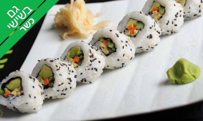 3 סושי כשר במסעדת טוגראשי, מתחם BIG אילת