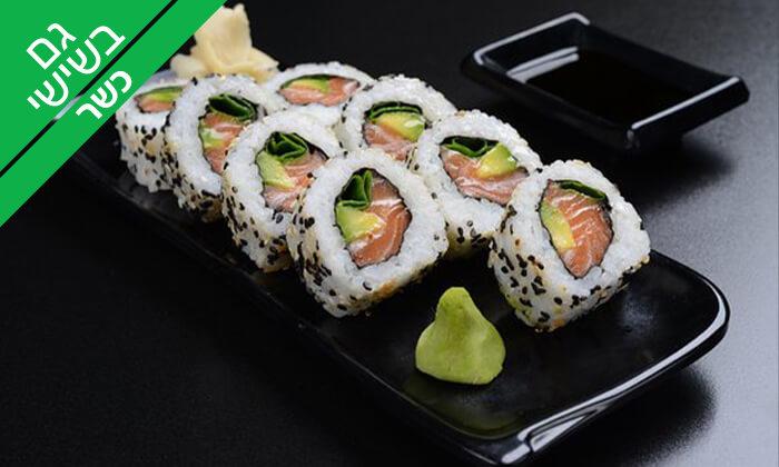 4 סושי כשר במסעדת טוגראשי, מתחם BIG אילת