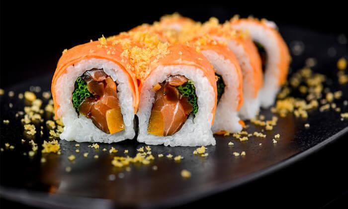 4 ארוחת סושי בסושיה - הוד השרון