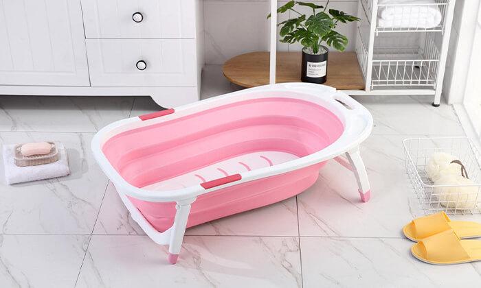 5 אמבטיית תינוק מתקפלת XENON