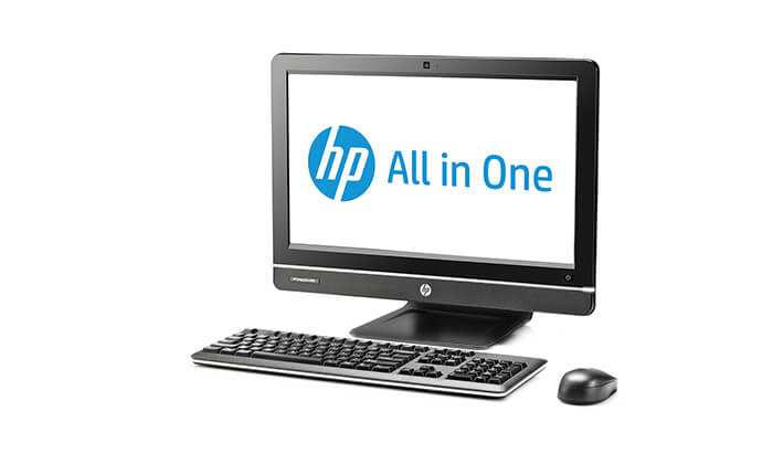 3 מחשב נייח HP All-in-One עם מעבד i3