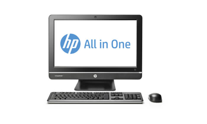 5 מחשב נייח HP All-in-One עם מעבד i3