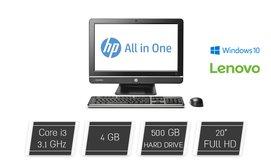 מחשב נייח HP עם מסך ''20