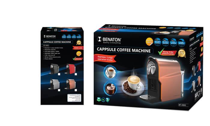 4 מכונת קפה אספרסו BENATON