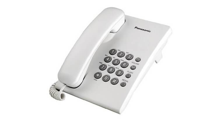 2 טלפון שולחני פנסוניק Panasonic