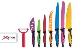 סט 8 סכינים קרמיות XENON
