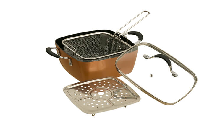 3 סיר לבישול וטיגון XENON