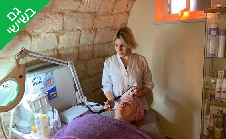 טיפול פנים Oly cosmetics