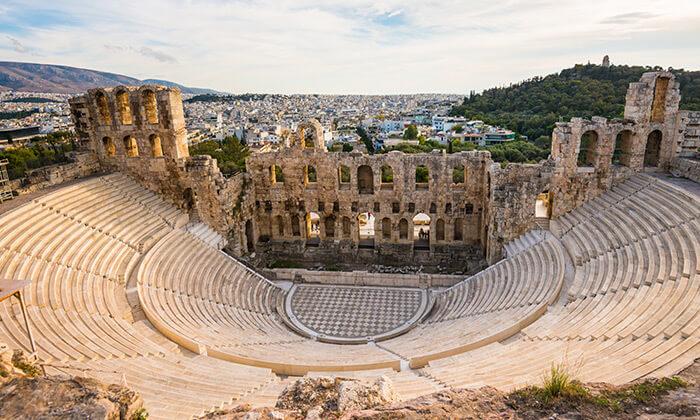 """3 חופשה והופעה: סופ""""ש עם אמה שפלן באתונה - כרטיס משודרג"""