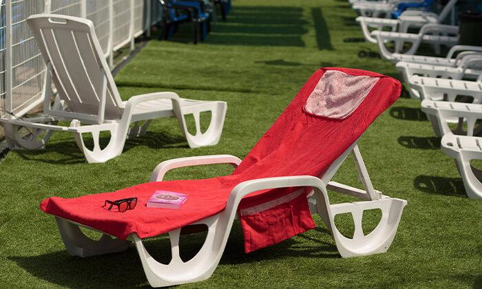 3 מגבת לכיסא חוף Xenon