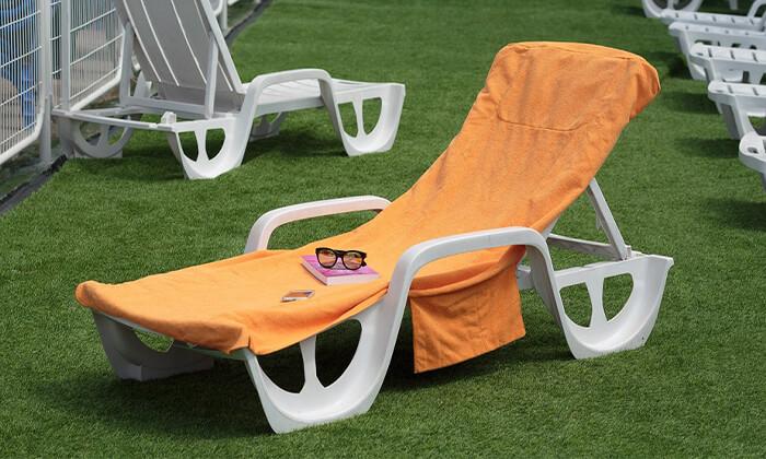 4 מגבת לכיסא חוף Xenon