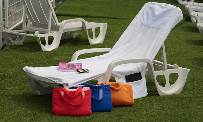 6 מגבת לכיסא חוף Xenon