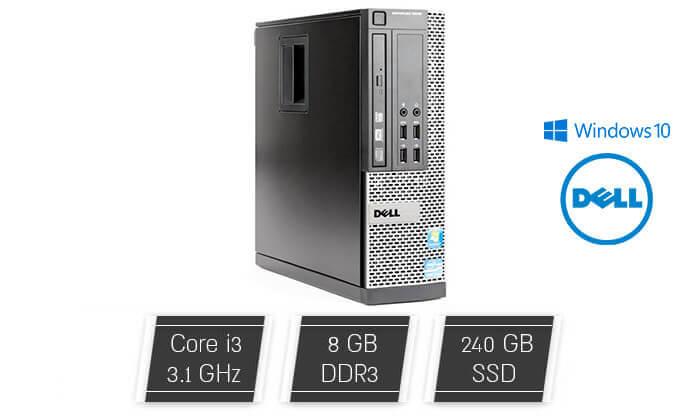 2 מחשב נייח דל DELL עם מעבד i3