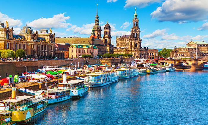 3 מגוון סיורים לבחירה בפראג והאזור - דרזדן גרמניה, קרלובי וארי, צ'סקי קרומלוב ועוד