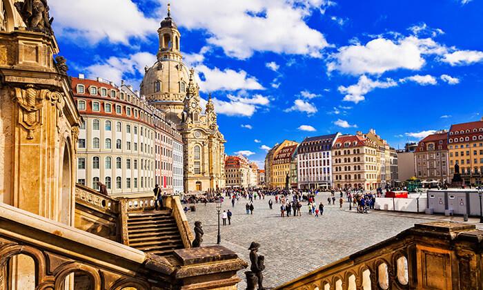 4 מגוון סיורים לבחירה בפראג והאזור - דרזדן גרמניה, קרלובי וארי, צ'סקי קרומלוב ועוד