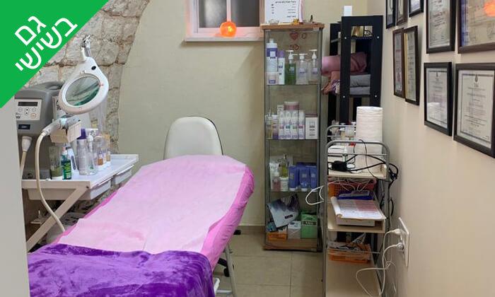 3 טיפולי פנים לגבר ב-Oly cosmetics, המושבה הגרמנית חיפה