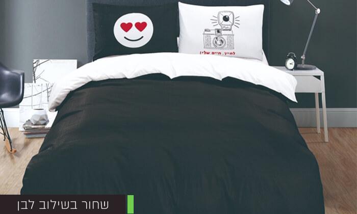 8 סט מצעים מיקרוסאטן למיטה זוגית