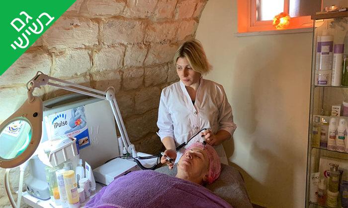 4 טיפול פנים בטכנולגיית אולטרסאונד ב-Oly cosmetics, המושבה הגרמנית חיפה