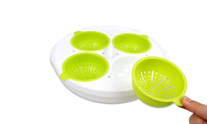 3 כלי להכנת ביצים במיקרוגל