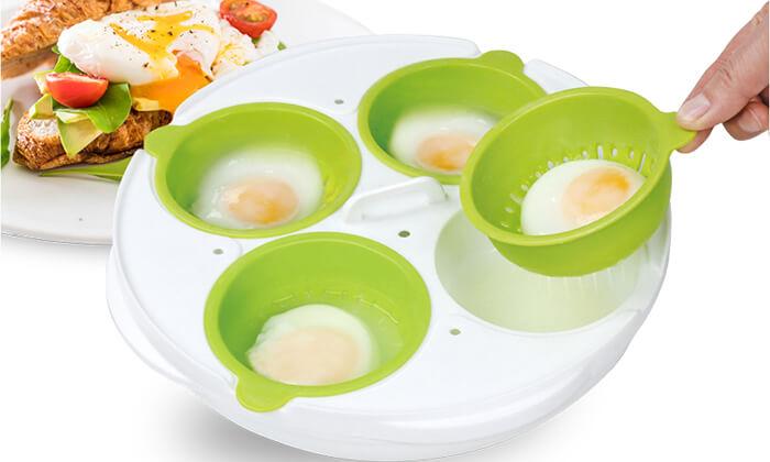 2 כלי להכנת ביצים במיקרוגל