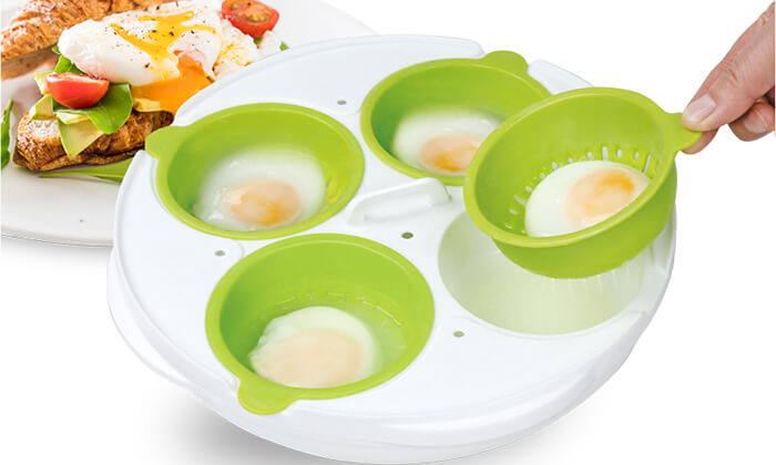 7 כלי להכנת ביצים במיקרוגל