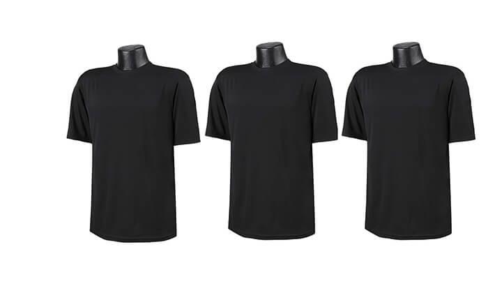 2 3 חולצות מנדפות זיעה T-Gold