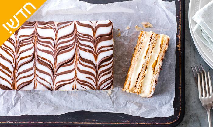 3 שובר הנחה להזמנת עוגות ועוגיות מקונדיטוריית SAPIRS, באר שבע