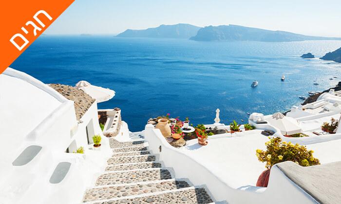 8 חופשה בסנטוריני - האי הקסום ביותר ביוון, כולל חגים