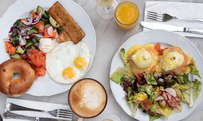 3 ארוחת בוקר במסעדת נולה, דיזנגוף תל אביב
