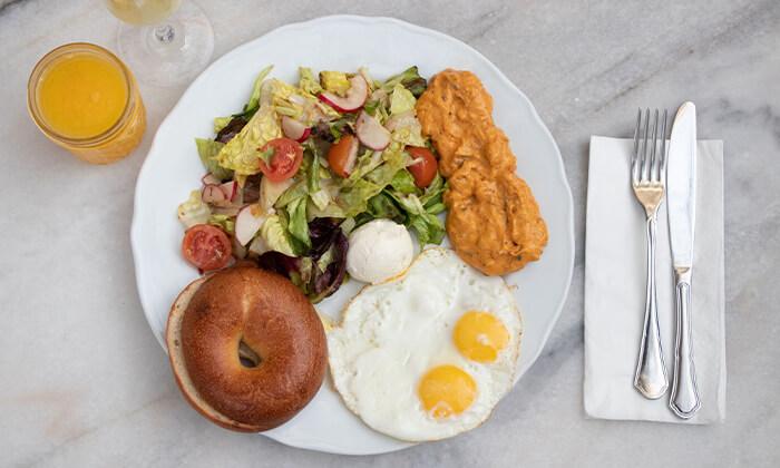 5 ארוחת בוקר במסעדת נולה, דיזנגוף תל אביב
