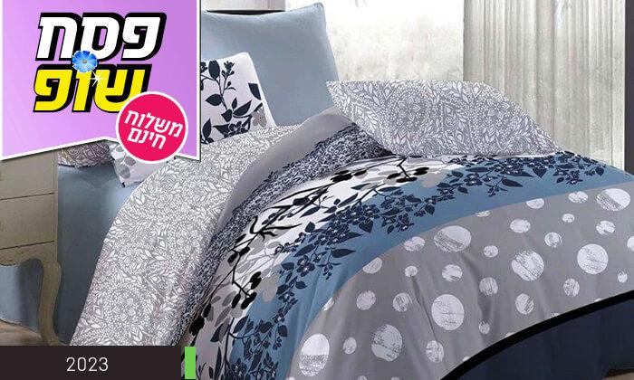 5 סט מצעים למיטה זוגית 100% כותנה - משלוח חינם!