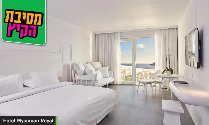 """7 מיקונוס - חופשת 5* באי הקסום ביותר ביוון במלון מרשת Myconian, כולל סופ""""ש"""