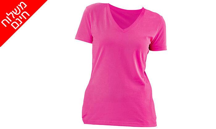 4 3 חולצות מנדפות זיעה לנשים T-Gold - משלוח חינם