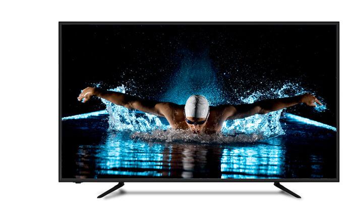 2 טלוויזיה 4K SMART Peerless, מסך 50 אינץ'