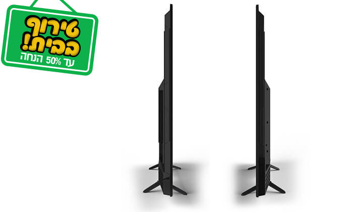 3 טלוויזיה 4K SMART Peerless, מסך 55 אינץ'