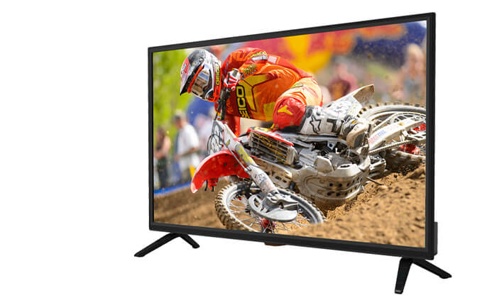 2 טלוויזיה חכמה Peerless, מסך 40 אינץ'