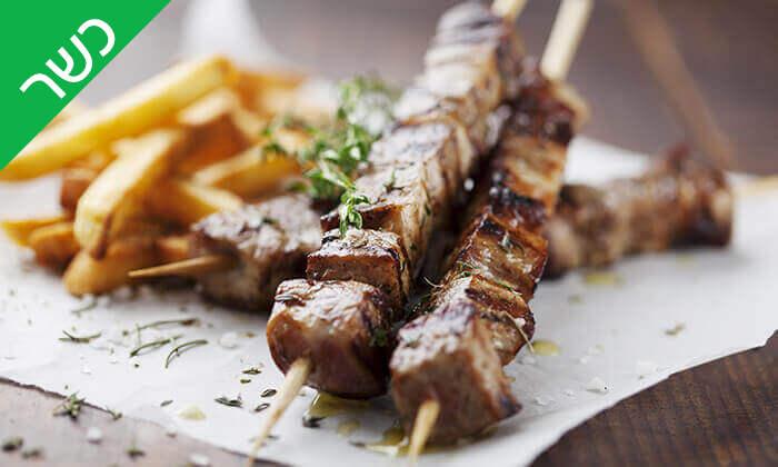 3 אכול כפי יכולתך במסעדת הגריל הלוהט (דאלאס) הכשרה, תל אביב