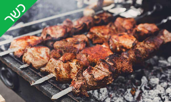 4 אכול כפי יכולתך במסעדת הגריל הלוהט (דאלאס) הכשרה, תל אביב