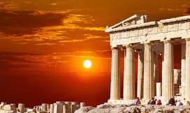 חופשה באתונה, כולל יולי-אוגוסט