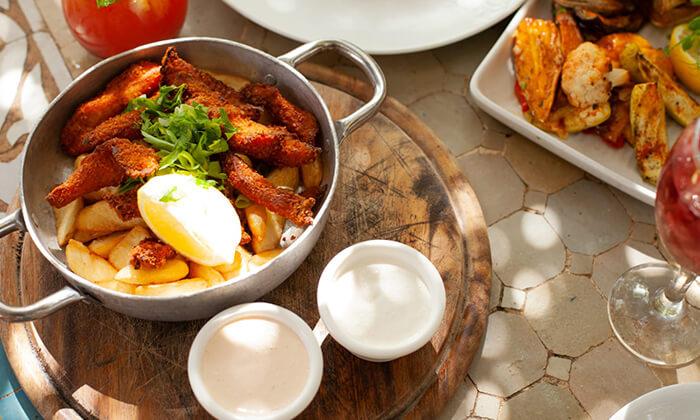 4 מסעדת מקום בלב רעננה - ארוחת בוקר או ערב