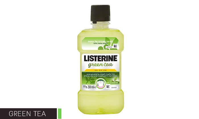 3 מארז 8 בקבוקי שטיפת פה ליסטרין Listerine